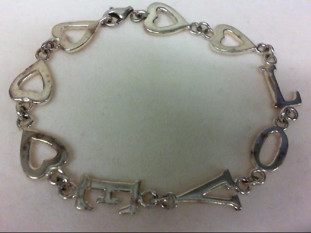 Silver Bracelet 925 Silver 8.2g