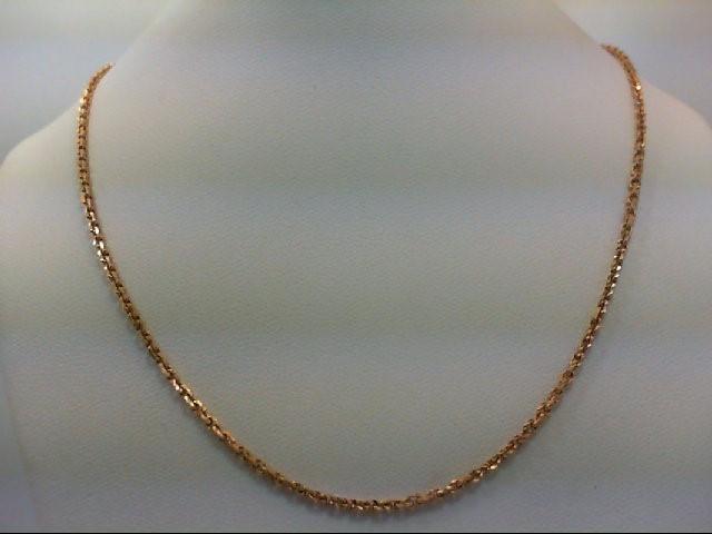 "20"" Gold Chain 18K Yellow Gold 6.7g"