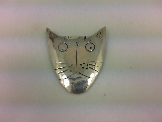 Silver Brooch 925 Silver 5.3g