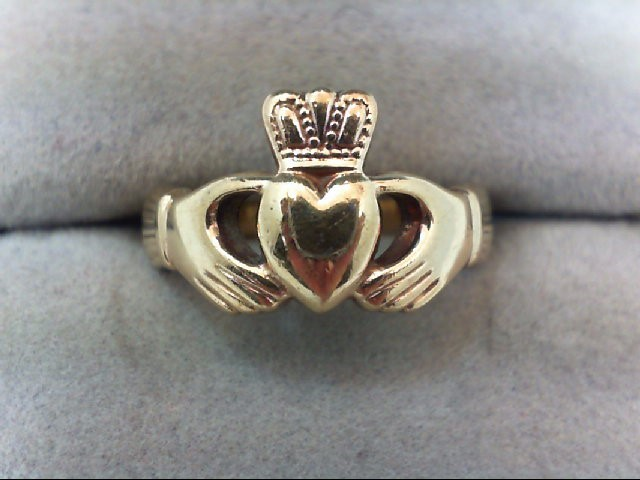 Lady's Gold Ring 10K Yellow Gold 4.5g
