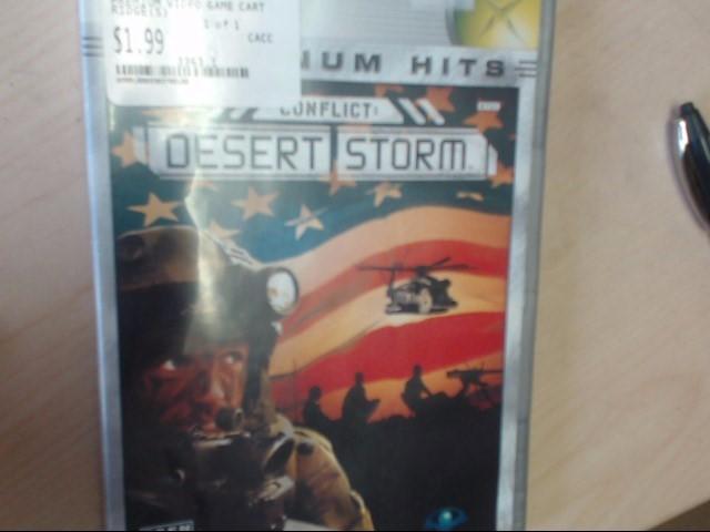 XBOX CONFLICT: DESERT STORM