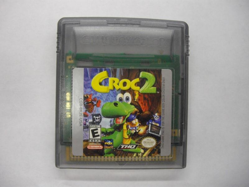NINTENDO Nintendo GAMEBOY COLOR CROC 2 *CARTRIDGE ONLY*