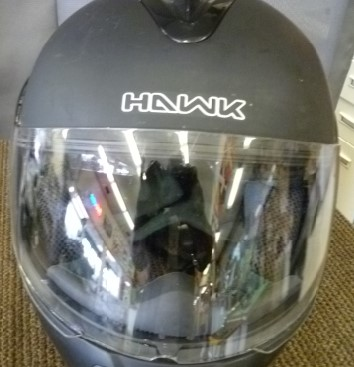HAWK CYCLE BLINC HELMET H6611
