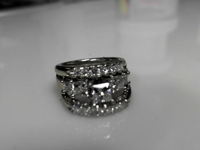 Diamond Wedding Band 19 Diamonds 1.42 Carat T.W. 571 White Gold 11.26g