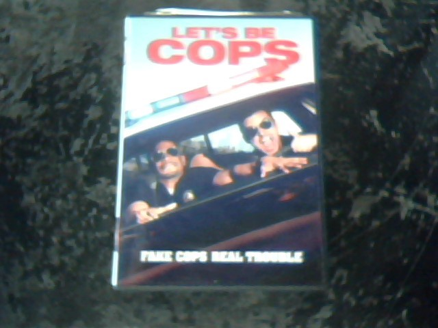 DVD MOVIE DVD LETS BE COPS