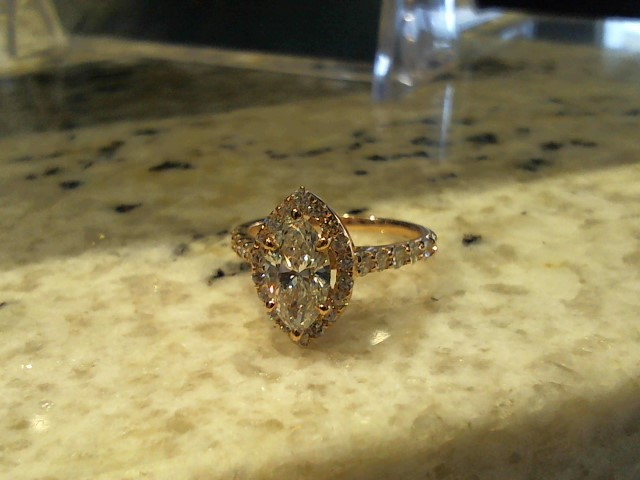 Lady's Gold Ring 14K Yellow Gold 6.5g
