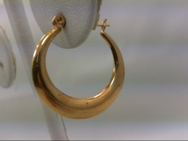 Gold Earrings 14K Yellow Gold 1.3g