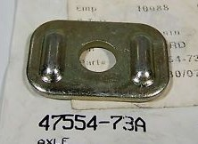 HARLEY DAVIDSON 47554-73A,  AXLE ADJUSTMENT PLATE