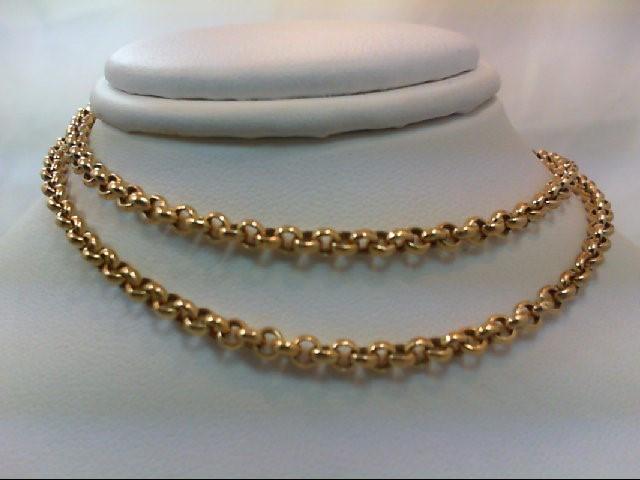 "18"" Gold Chain 18K Yellow Gold 6.4g"