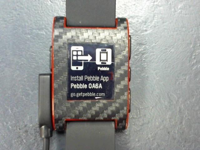 PEBBLE SMART WATCH Lady's Wristwatch 301RD