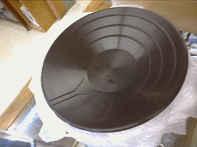 JOBE 5051 BLACK PLASTIC GOLD PAN