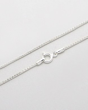"18"" Silver Chain 925 Silver 2.22g"