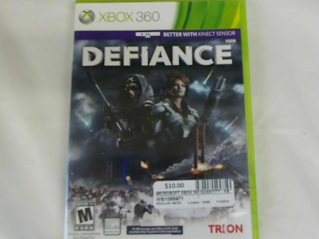 DEFIANCE-XBOX 360 GAME