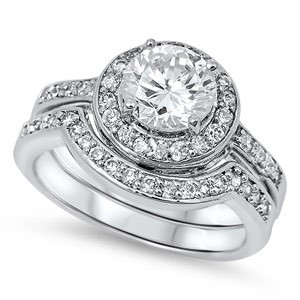 Lady's Silver Ring 925 Silver 6.3g Size:5