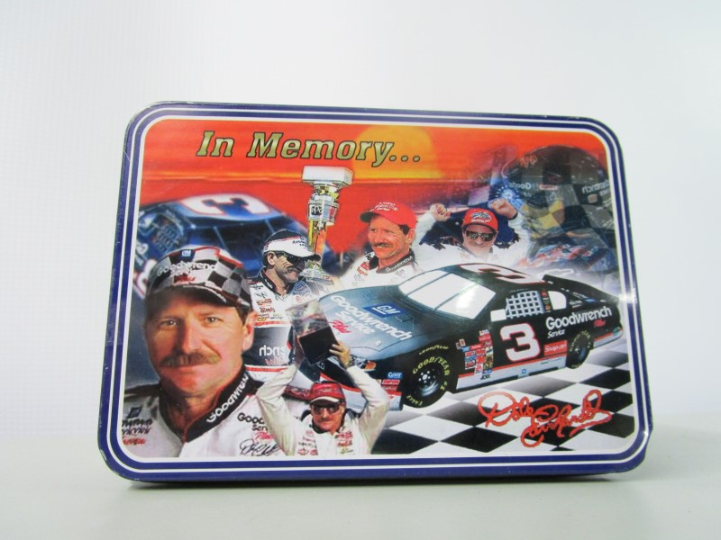 DALE EARNHARDT COLLECTOR'S EDITION POCKET KNIFE IN MATCHING TIN