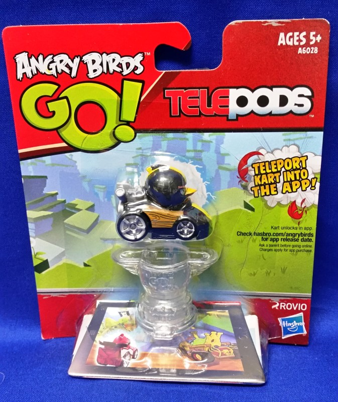 HASBRO ANGRY BIRDS GO! TELEPODS BLACK BIRD