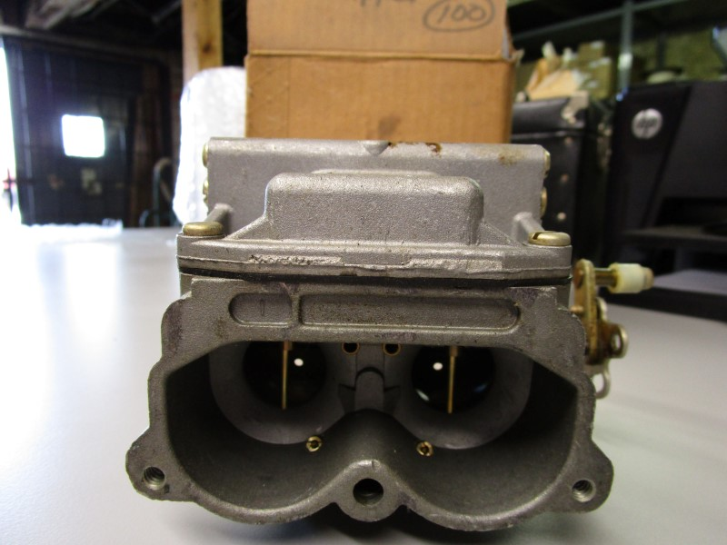 NEW OLD STOCK OMC CARBURETOR ASSEMBLY, UPPER - OMC PART NO. 390395, SHIPS IN ORI