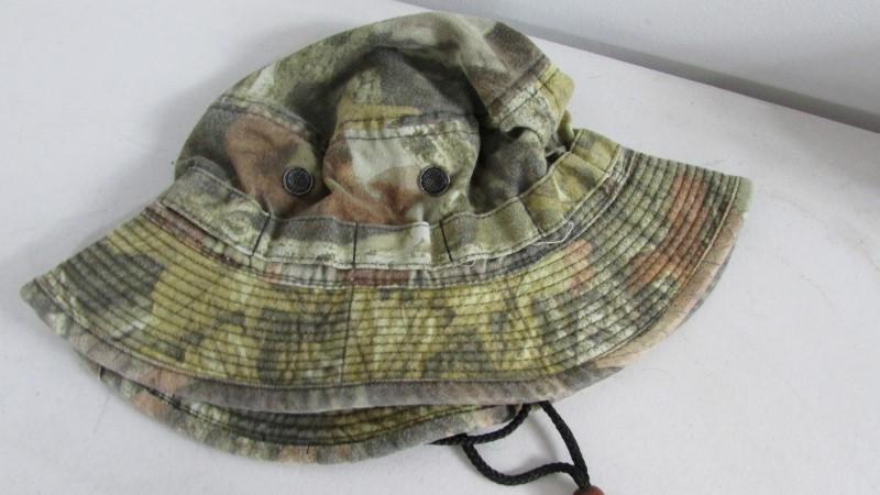 CAMO BOONEY CAP
