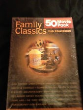DVD BOX SET DVD 50 MOVIE PACK FAMILY CLASSICS DVD COLLECTION
