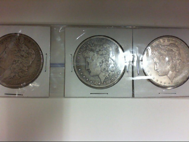 3 MORGAN 1921 1900 1901