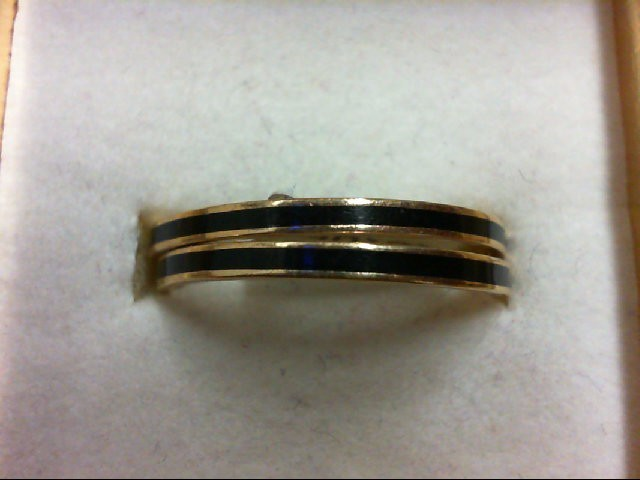 Gent's Gold Wedding Band 14K Yellow Gold 2.5g