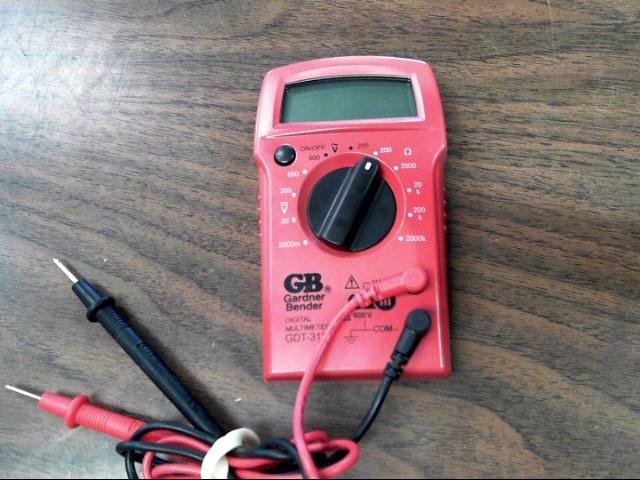 GARNDER BENDER Multimeter GDT-311