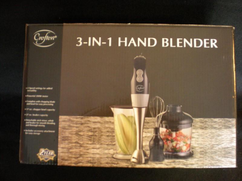 CROFTYON 3-IN-1 HAND BLENDER