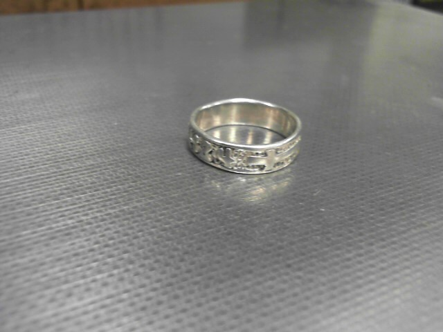Lady's Silver Ring 925 Silver 4.3g