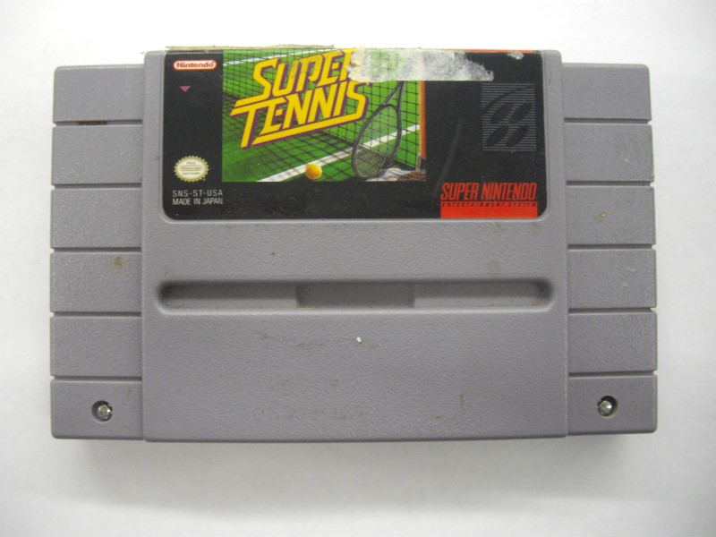 NINTENDO SNES Game SUPER TENNIS *CARTRIDGE ONLY*