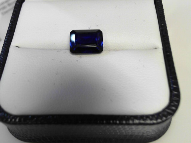 4.08cts Sapphire Emerald Cut Stone