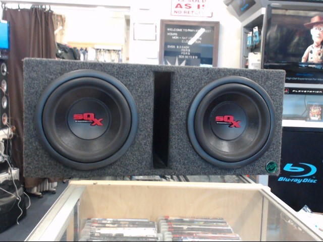 """ELEVATION AUDIO Speakers/Subwoofer 10"""" SUBS IN BOX"""