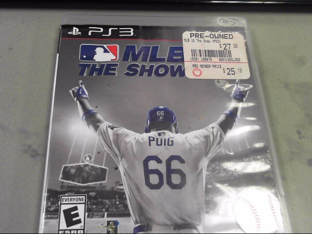 SONY Sony PlayStation 3 Game MLB THE SHOW 15 -PS3