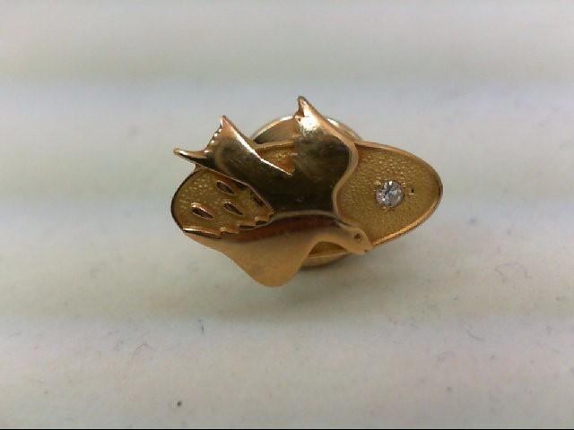 Gold-Diamond Misc. 0.03 CT. 14K Yellow Gold 1.9g