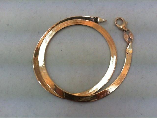 Gold Bracelet 14K Yellow Gold 2.6g
