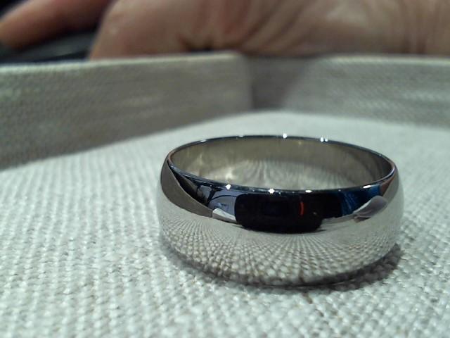 Gent's Gold Ring 14K White Gold 5.32g
