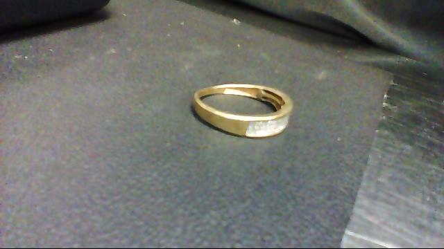 Lady's Diamond Cluster Ring 60 Diamonds .60 Carat T.W. 10K Yellow Gold 2.1g