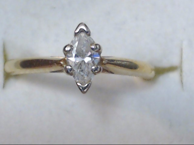 DIAMOND RING 14K 2G S-5