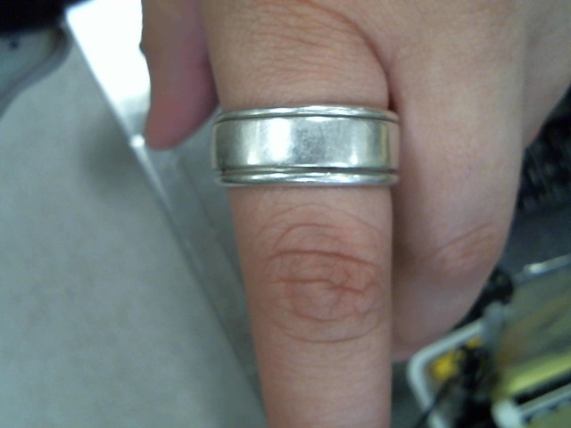 Gent's Silver Wedding Band 925 Silver 11.5g