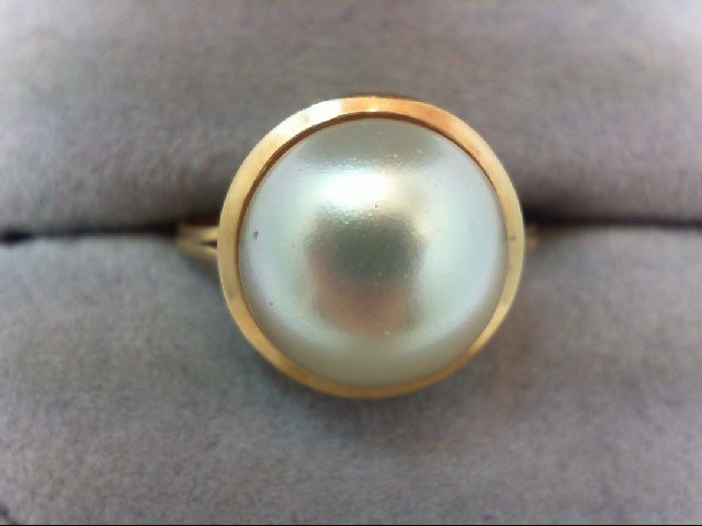 Lady's Gold Ring 18K Yellow Gold 2.5g