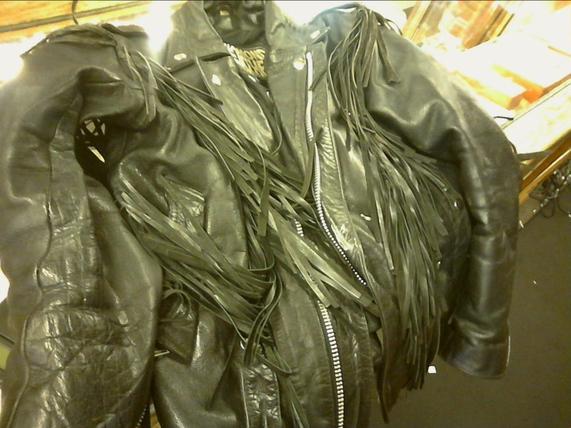 Clothing LEATHER MOTORCYCLE JACKET