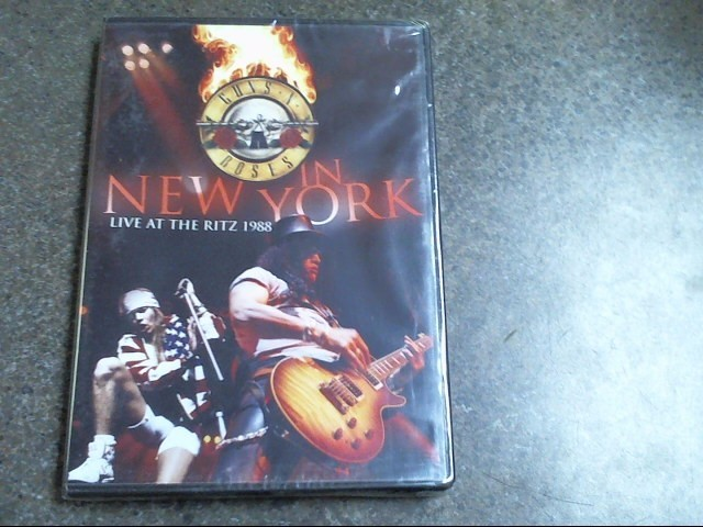 GUNS N ROSES IN NEW YORK LIVE A THE RITZ