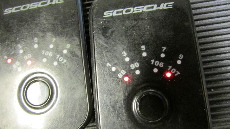 TWO SCOSCHE Car Audio FMT4
