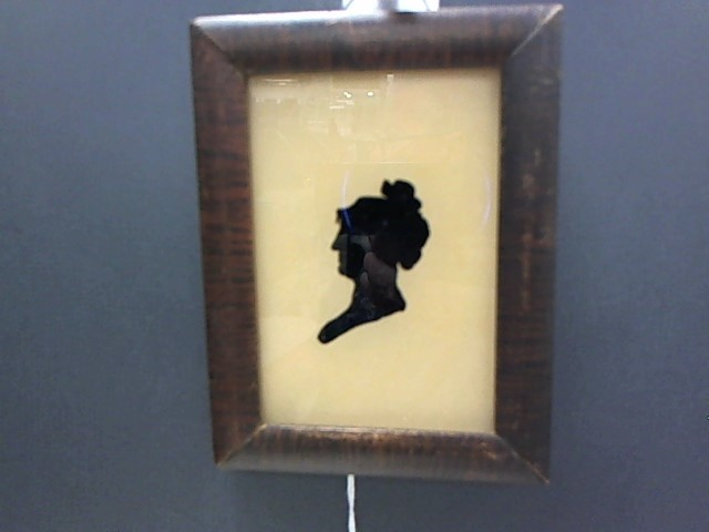 REVERSED GLASS PAINTING ON GLASS 1813 1ST LADY DOLLEY MADISON VINTAGE RARE FIND