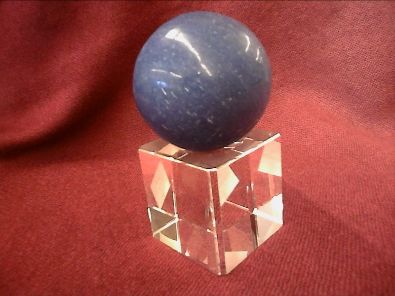 MISC NEW MISC NEW MISC ANDREAS BOETTCHER; STONE OR CRYSTAL SPHERE