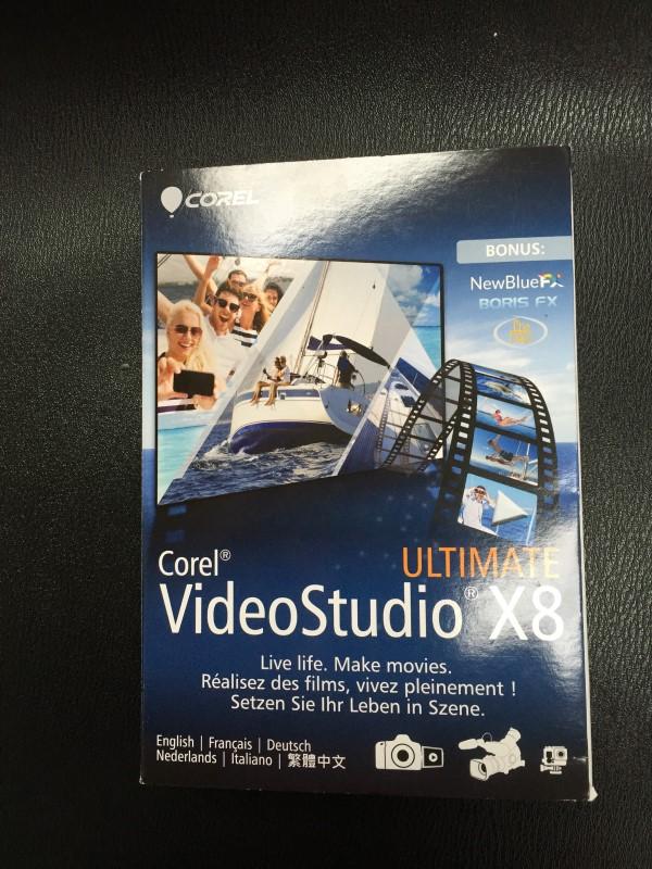 COREL VIDEO STUDIO X8 ULTIMATE DOWNLOAD KEY