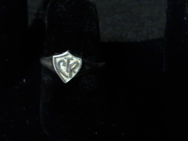 Lady's Silver Ring 925 Silver 2.1g Size:8.5