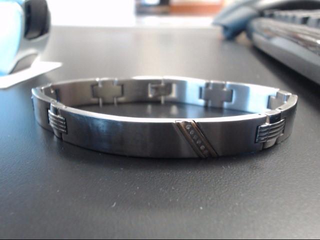 Bracelet Silver Stainless 45.47g