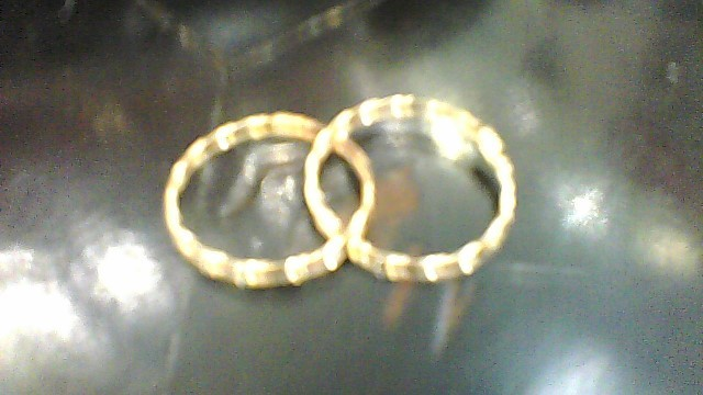 Gold Earrings 14K Yellow Gold 0.49g