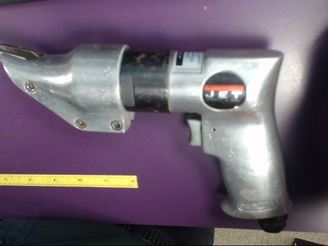 JET JSM-204 Handheld Pistol Grip Metal Shears Air Pnematic Powered