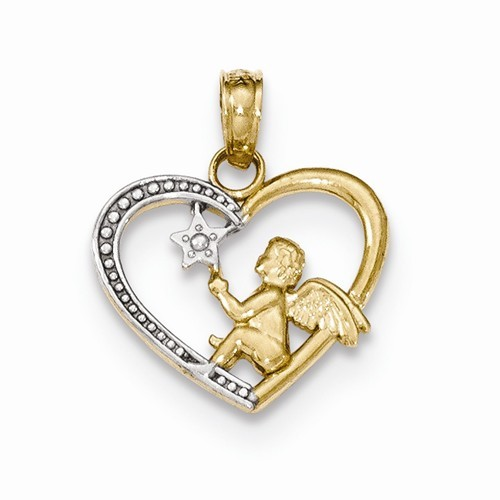 Gold Pendant 14K Yellow Gold 0.77g